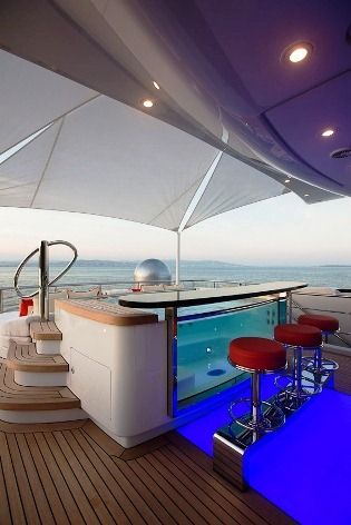 EXCELLENCE V -  Sundeck Jacuzzi with Bar