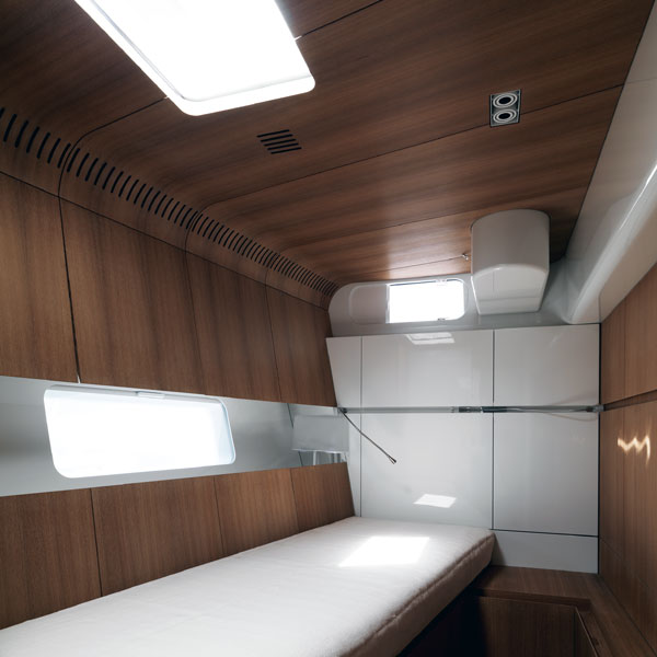 Sailing yacht POLYTROPON II -  Twin Cabin